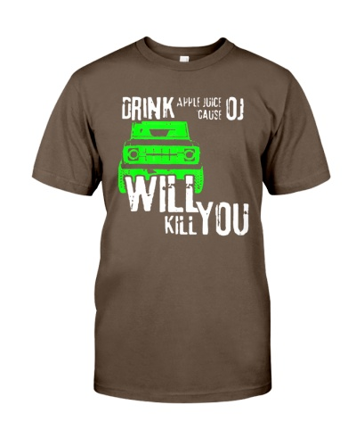 drink apple juice t shirt