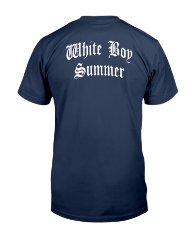white boy summer shirt