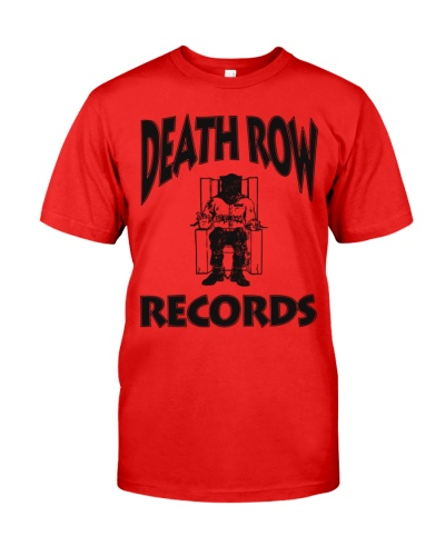 death row records t shirts