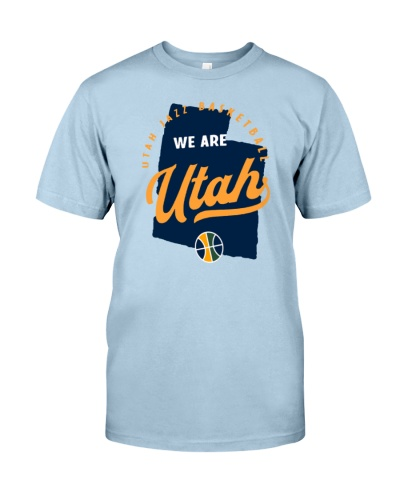 Utah Jazz basketball we are Utah shirt