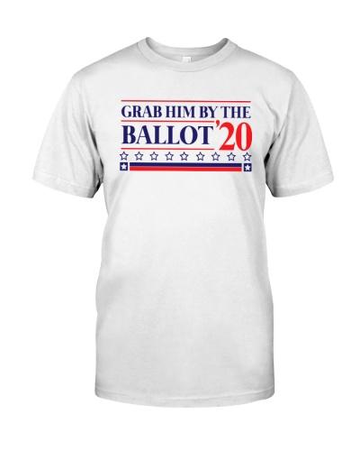 grab him by the ballot shirt