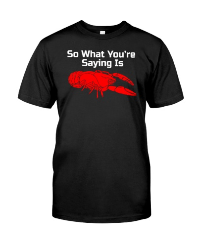 jordan peterson lobster t shirt