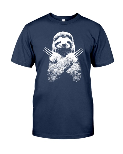 sloth wolverine shirt