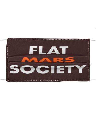 flat mars society cloth face mask
