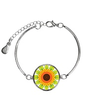 Flower Arts Design  Metallic Circle Bracelet thumbnail