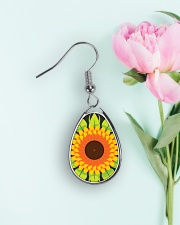 Flower Arts Design  Teardrop Earrings aos-earring-teardrop-front-lifestyle-8