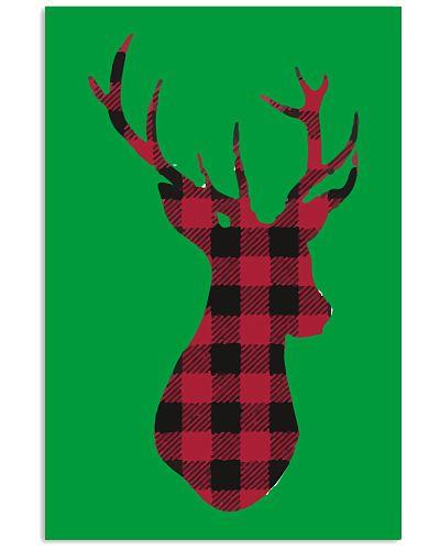 Plaid Reindeer Shirt Christmas T shirt