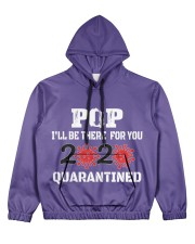POP i'll be there for you 2020 Quarantined Women's All Over Print Hoodie front