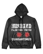 HUSBAND i'll be there for you 2020 Quarantined Women's All Over Print Hoodie thumbnail