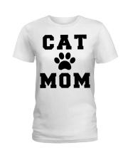 CAT MOM Ladies T-Shirt thumbnail