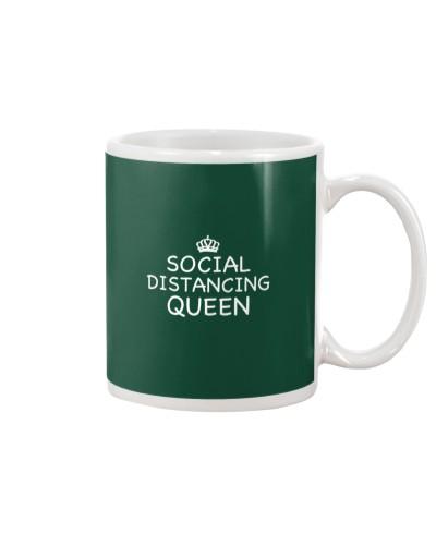 Social Distancing Queen Quarantine Flu