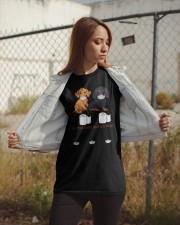 Dachshund Quarantined Classic T-Shirt apparel-classic-tshirt-lifestyle-07