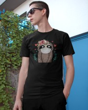 Quarantined Sloth Classic T-Shirt apparel-classic-tshirt-lifestyle-17