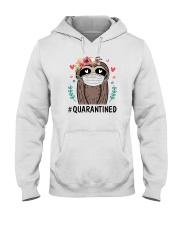 Quarantined Sloth Hooded Sweatshirt thumbnail
