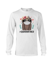 Quarantined Sloth Long Sleeve Tee thumbnail