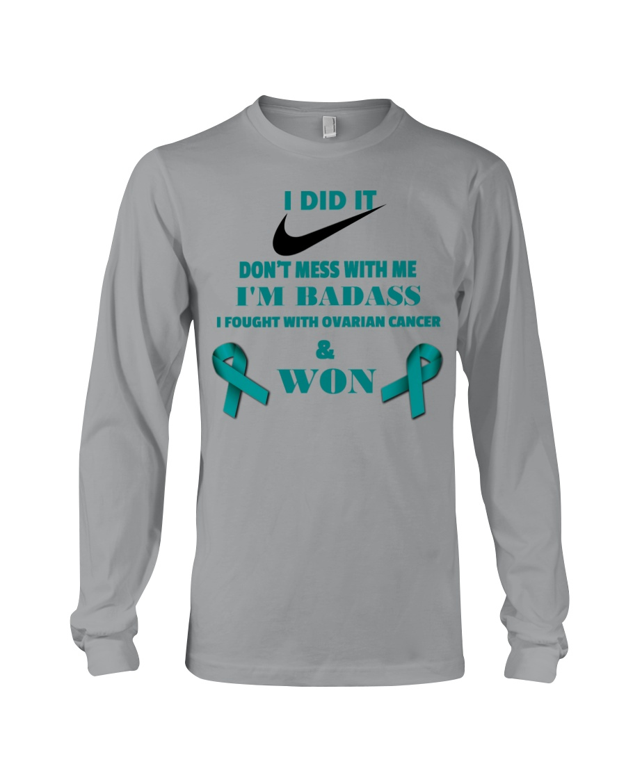 I Beat Ovarian Cancer Long Sleeve Tee