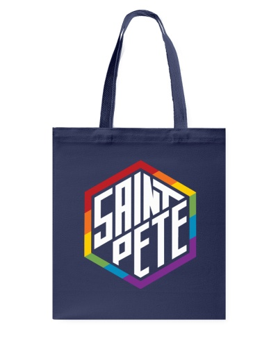 Saint Pete Hexagon - Rainbow