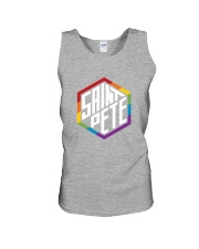 Saint Pete Hexagon - Rainbow Unisex Tank thumbnail