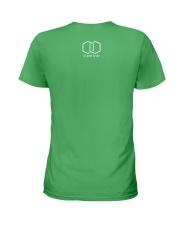 Saint Pete Hexagon - Rainbow Ladies T-Shirt back