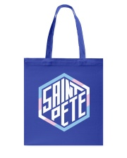 Saint Pete Hexagon - Trans Tote Bag thumbnail