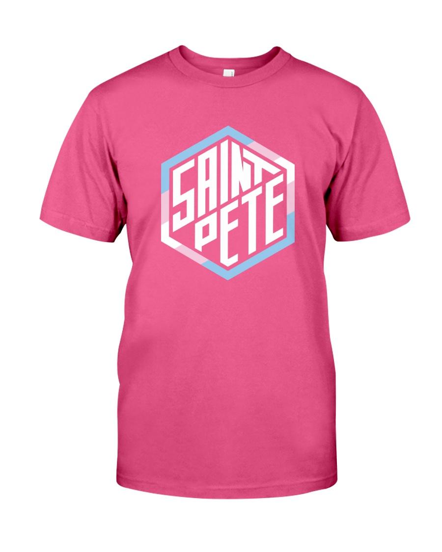 Saint Pete Hexagon - Trans Premium Fit Mens Tee