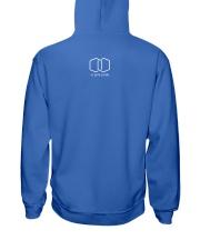 Saint Pete Hexagon - Trans Hooded Sweatshirt back