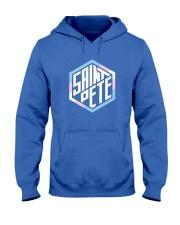 Saint Pete Hexagon - Trans Hooded Sweatshirt front