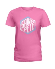 Saint Pete Hexagon - Trans Ladies T-Shirt thumbnail