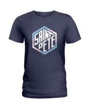 Saint Pete Hexagon - Trans Ladies T-Shirt front