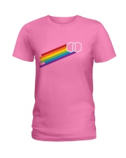 The More You Pride - Rainbow Ladies T-Shirt front