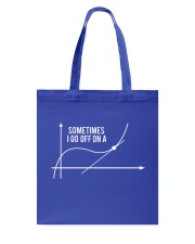 Math shirt Tote Bag thumbnail