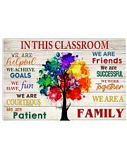 In this classroom 17x11 Poster front
