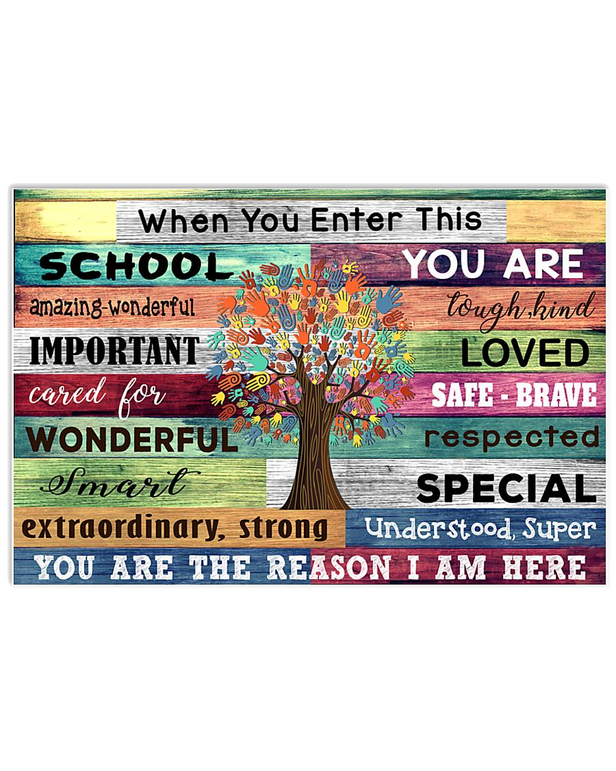 You are the reason I am here 17x11 Poster