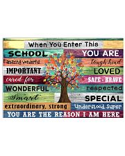 You are the reason I am here 17x11 Poster front