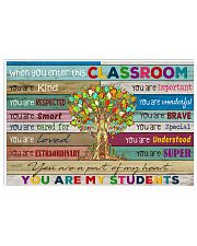 You are my students 17x11 Poster front