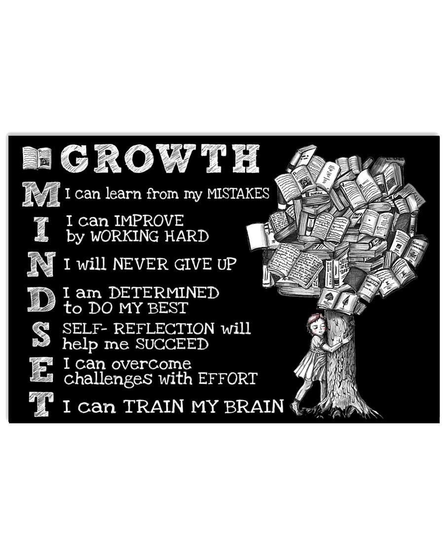 Growth Mindset 24x16 Poster