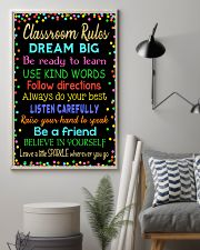 Classroom rules 16x24 Poster lifestyle-poster-1