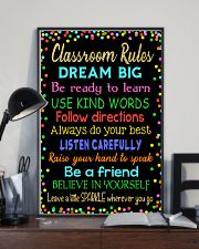 Classroom rules 16x24 Poster lifestyle-poster-2