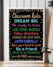 Classroom rules 16x24 Poster lifestyle-poster-4