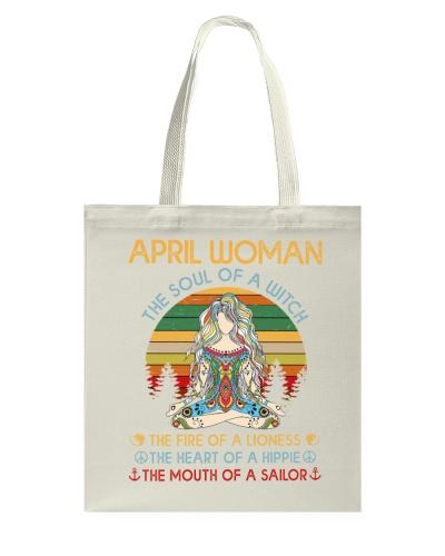 April woman