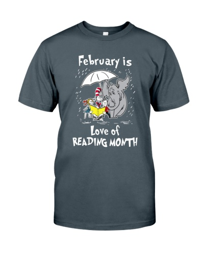 February is love of reading month