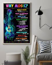 Why music 16x24 Poster lifestyle-poster-1