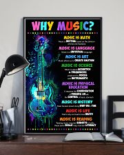Why music 16x24 Poster lifestyle-poster-2