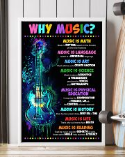 Why music 16x24 Poster lifestyle-poster-4