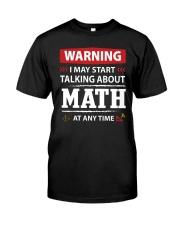 Math shirt Classic T-Shirt front