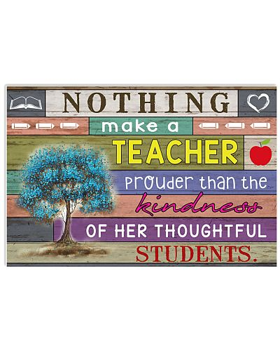 Nothing make a teacher