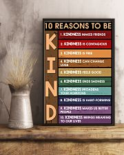 10 reasons to be kind 11x17 Poster lifestyle-poster-3
