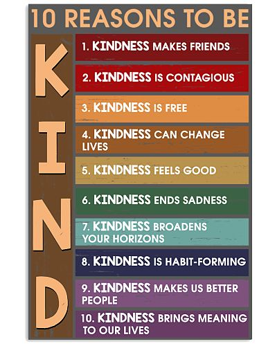 10 reasons to be kind