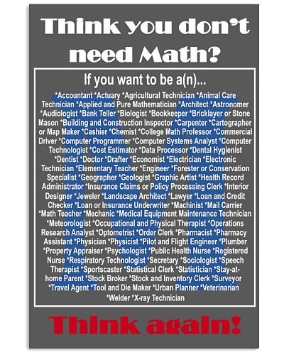 Think you don't need Math- Think again