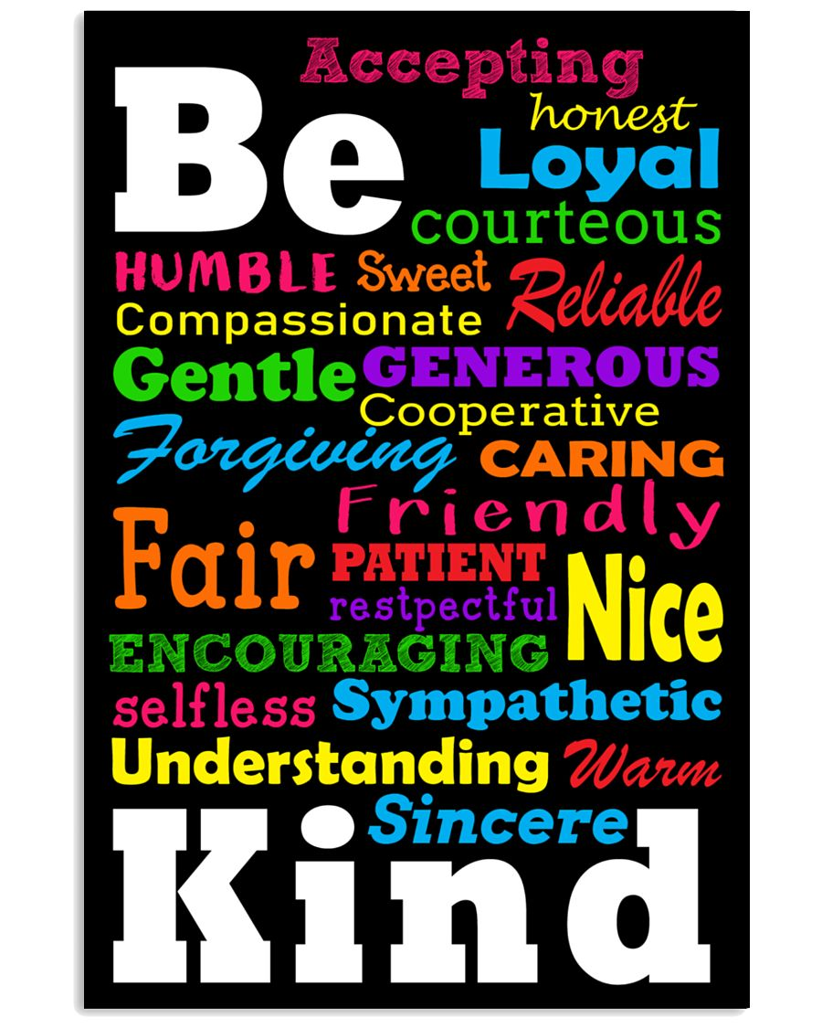 Be Kind 11x17 Poster